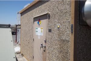 8' x 15' Fibrebond Concrete Shelter