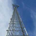 Used 190' Self-Supporting Telecom Towers For Sale