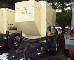 30 KW Diesel Mobile Generators