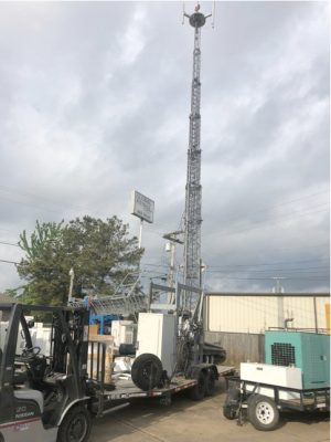 106' MSI Mobile Tower COW