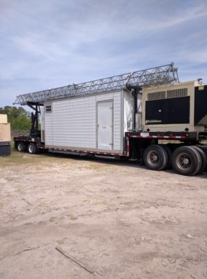 124' FWT COW Mobile Command Units