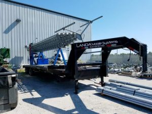 150' Landas Mobile Systems Mobile Tower COW