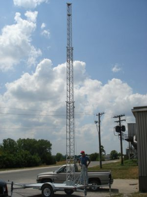 50' Mobile Tower Cow's
