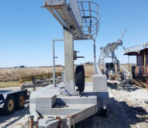 60' FWT Pneumatic Mobile Tower