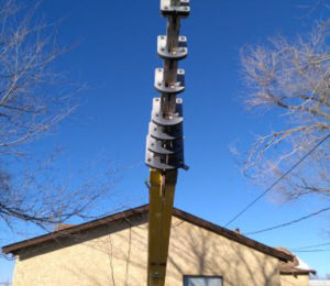 70' Portable Telescoping Mast