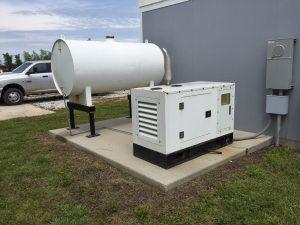 New 16 KW Perkins Diesel Generators & Tank