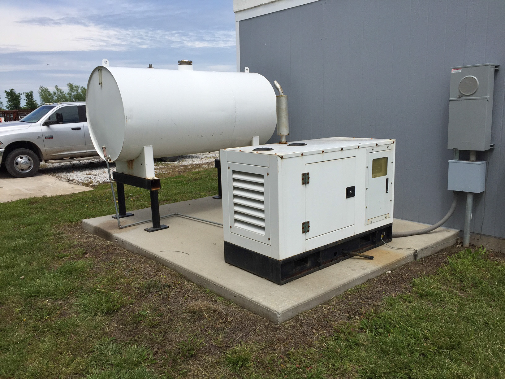 New 16 KW Perkins Diesel Generators & Tank Tower Direct