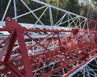 200' (60M) Sabre SR2400 Guyed tower 2