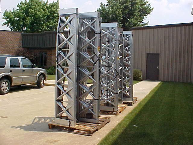 Self-Supporting 24' - 72' BX Towers - Tower Direct