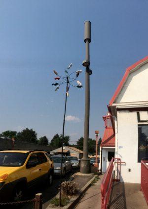 50' Light Pole Antenna Tower