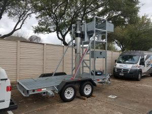 60ft SunWest Mobile Tower Cow
