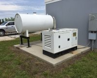 New 16 KW Perkins Diesel Generators & Tank