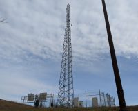 Used 120' Sabre Self-Supporting Tower 1