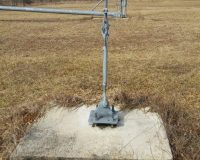 Used 120' US Tower Tilt-over Guyed Tower