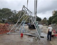 Used 150ft Self-supporting Tower
