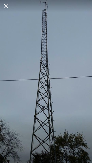 Used 80' ROHN SSV Self-supporting Tower